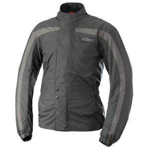 Мотодождевая куртка BUSE Regenjacke Black-Grey