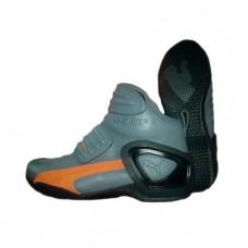 Мотоботинки Puma Flat 2 GTX gray/orange