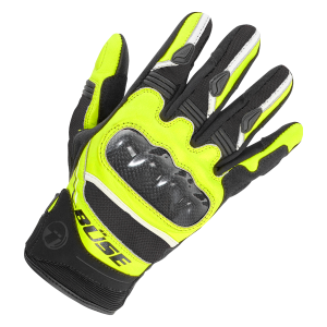 Мотоперчатки Buse Safe Ride black-yellow neon 10