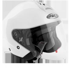 ROCC 180 Jet helmet white
