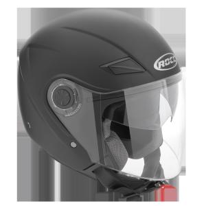 Мотошлем ROCC 230 Jet helmet matt black