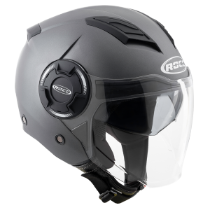 Мотошлем ROCC 280 Jet helmet matt titan
