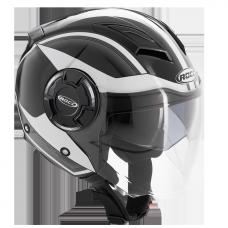 ROCC 282 Jet helmet black/white