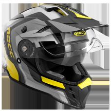 ROCC 781 enduro helmet black/neon/yellow