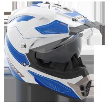 ROCC 771 enduro helmet white/blue
