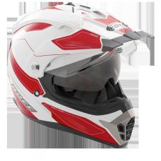 ROCC 771 enduro helmet white/red