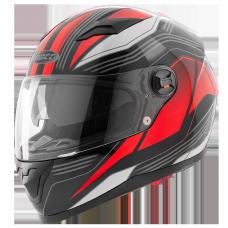 Мотошлем ROCC 322 black/red