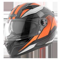Мотошлем ROCC 322 black/orange
