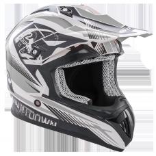 ROCC 742 offroad helmet black/grey