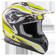 ROCC 742 offroad helmet black/neon yellow