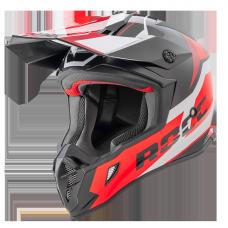 ROCC 751 offroad helmet black/red