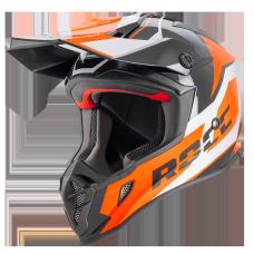 ROCC 751 offroad helmet black/orange