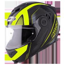 ROCC 881 matt black/neon yellow