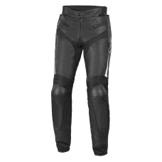 BÜSE Dervio leather pant black-white
