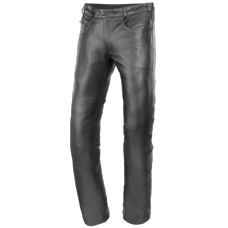 BÜSE leather jeans ladies black