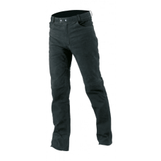 BÜSE Nubuk leather jeans black